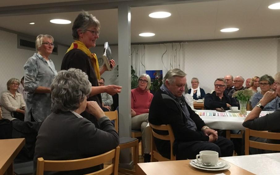 Ingrid Kennborn, ordförande i Bohusläns hembygdsförbund.